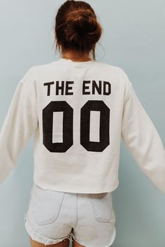 Brandy ♥ Melville | Nancy The End 00 Sweatshirt - Graphics