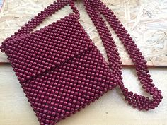 Beaded Bags, Beaded Purses, Jewelry Patterns, Beading Patterns, Bead Crochet, Cute Jewelry, Bead Weaving, Leather Craft, Sewing Tutorials