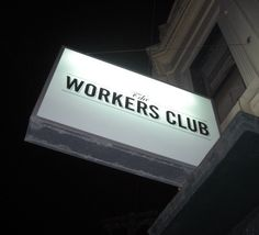 The Workers Club, Fitzroy, Melbourne.