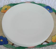 Set of 8 Corelle by Corning Winter Frost White 10.25\  Dinner Plates & Set of 5 Corelle by Corning Winter Frost White Large 8 1/2\