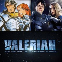 We're also excited to see Valerian and the City of a Thousand Planets based on the French comics Valérian and Laureline by Pierre Christin and Jean-Claude Mézières.