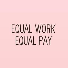 Yesterday people around the world celebrated Equal Pay Day to raise awareness of the gender pay gap between men and women of the same position.   According to the National Committee on Equal Pay Equal Pay Day was commemorated on April 4th this year as it symbolises how far into the new year an American woman must work in order to make the same amount of money as her male counterpart in 2016.  Regardless of sex gender or identity The Coco believes that equal work deserves equal pay.  .