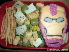 Iron Man sandwich