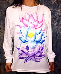 "Brand New ""Lotus Flowers"" Design!!! Artist: @beachbumem ❤️ www.ElectroThreads.com"