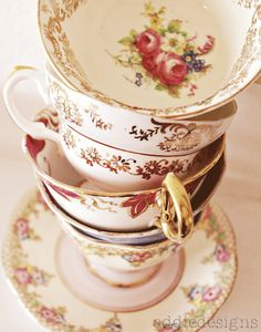 Stack of Teacups by SimplyMontessori, via Flickr