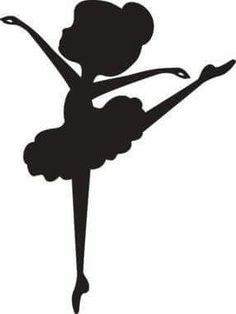 3 adorable ballerina silhouette poses to choose from. Perfect gift for your little ballerina! Great gift idea for dance instructors and teachers. Ballerina Silhouette, Ballerina Art, Ballerina Cakes, Silhouette Art, Diy And Crafts, Crafts For Kids, Paper Crafts, Ballerina Birthday Parties, Cake Birthday