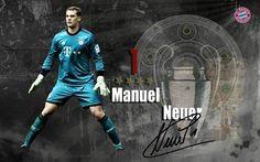 Papier peint Manuel Neuer