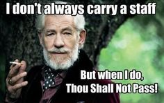 The most interesting wizard in the world.