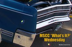 """MSCC July 20 """"What's It?"""" Wednesday--go to the link for the solution: http://mystarcollectorcar.com/whats-it-wednesday-a-mid-week-test-for-the-automotive-trivia-guys/"""