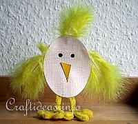 Paper Craft for Easter - Standing Paper Chick