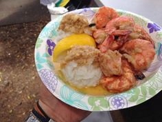 Hawaii, shrimp scan pin of Oahu North Shore Giovanni