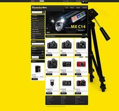 Photo Store PrestaShop Themes by Mercury