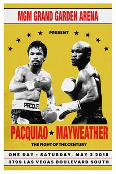 As the fight of the century approaches, we rediscover the incredible designs of boxing's past.
