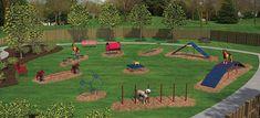 Bark Park Equipment | Dog Parks | New England Recreation Group ...