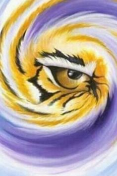 Eye of the Tiger! Geaux LSU!