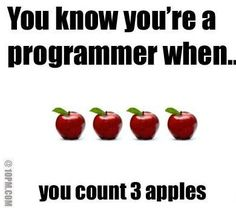 Only programmers would know. Yep.