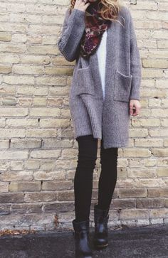 cozy sweaters and clogs