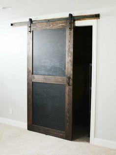 Barn Door - Sliding 1 Panel Z Style - Walston Door Company Barn Door Closet, Diy Barn Door, Barn Door Hardware, Wood Barn Door, Interior Sliding Barn Doors, Glass Barn Doors, Sliding Doors, Painted Doors, Wood Doors