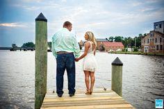 Engagement Photos in Washington, NC | Washington, NC Wedding Photographer - Dana Jo Photography