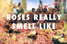 """Lean a little bit closer"" : The Roses of Heliogabalus (1888), Sir Lawrence Alma-Tadema / Roses, OutKast"