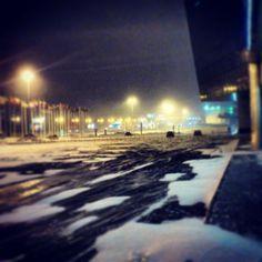 Москва. И опять зима...
