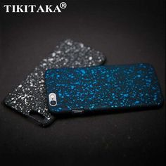 Hurtownie Nowy Styl Pokrywa 3D Trójwymiarowy Starry Stars Ultra cienkie Matowe niebo 5S SE Telefon Case dla iPhone 6 6 s 7 Plus Shell