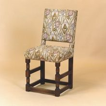 Jacobean Cromwellian chair dated 1649 with barley twist turnings Side Chairs, Dining Chairs, Oak Chairs, Jacobean, Furniture Styles, Solid Oak, Antique Furniture, Accent Chairs, Antiques