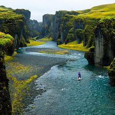 According to my google-fu, this is apparently Iceland, where the tectonic plates separate Europe and America?