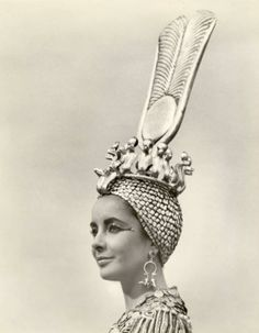 """Elizabeth Taylor in Cleopatra: """"I feel very adventurous. There are so many doors to be opened, and I'm not afraid to look behind them."""""""