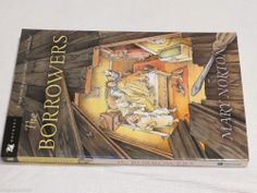 The Borrowers Mary Norton Odyssey book Horn paperback excellent