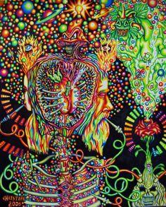 Mystical Dream Art ॐ Art Of Dreams ★ ☆★★☆★★☆★★☆★★☆★★☆★★☆★★☆★★☆★ ☼ Psycadelic Art, Trippy Photos, Hippy Art, Acid Art, Trippy Wallpaper, Collage Vintage, Dream Art, Visionary Art, Art Inspo
