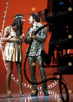 # Sonny and Cher were sunshine pop music  royalty in 1967.****