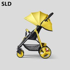 Nice Sld Baby Stroller Scientific Design Folds Easily And Conveniently 0-3 Years 7 Kg Carrying Capacity 25 Kg Activity & Gear Mother & Kids Steel Frame Eva Wheels Easy To Repair