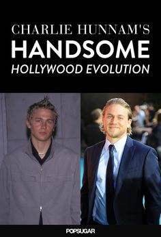 Charlie Hunnam's Superhot Hollywood Evolution in 35 Photos....He gets better with age.