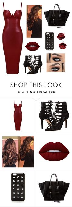 Untitled #299 by bessydolan on Polyvore featuring Posh Girl, Michael Kors, CÉLINE, Michal Negrin, J.Crew and Lime Crime