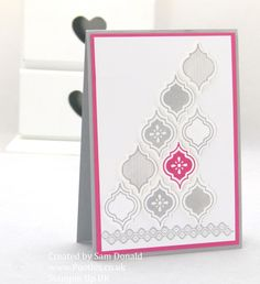 Pootles Stampin Up UK Strawberry Slush Mosaic Madness 3