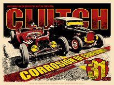 Clutch - Corrosion Of Conformity  I never knew Clutch and Corrosion of Conformity toured together... I WISH I SAW IT