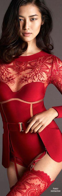 La Perla Neoprene Desire Collection FW2015 Campaign, Photographer Mert & Marcus | Purely Inspiration