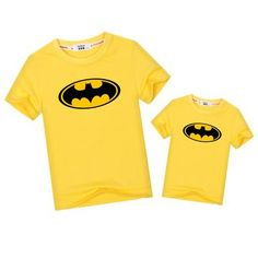 Batman Matching T-Shirts - 7 Colors – Cece Match Matching Family Outfits, Matching Shirts, Daddy, Polo Ralph Lauren, Batman, Unisex, Colors, Mens Tops, T Shirt