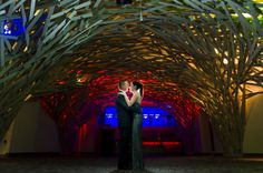 Rounding out our list is The Garden. Located on one of Milwaukee's hottest nightlife streets, this modern, unique venue has been popular with couples for the Flux Design elements, location and AMAZING SURG Restaurant Group food! Photo by JBe Photography; photo shoot planning by Dare to Dream.