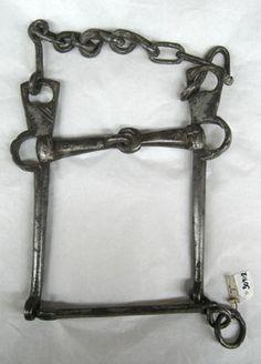 SHORT DESCRIPTION Asked known as curb bit, probably 1800s. OTHER KEYWORDS bite