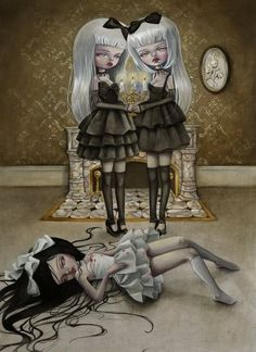 pop surrealism lolita art