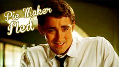 [GIF] pushing daisies characters When he does that, I literally melt