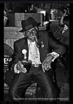 """Pops"" Carter was a Denton Texas blues legend, born in Louisiana and polished in Houston."