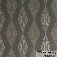 Graphika wallpaper by Dulux, inspired by The Great Gatsby.