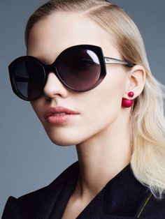 5b1a4ccc4136 Russian model Sasha Luss is fronting the new campaign of Christian Dior  eyewear. (source) Click the links to view past campaign images of Dior  Eyewear  Fall ...
