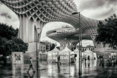 https://flic.kr/p/BTT2Wh | Metropol Parasol, Sevilla | Rainy day in Sevilla