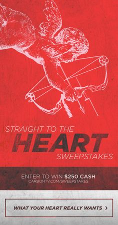 """Here's your chance to WIN $250 CASH! Enter the Straight to the Heart #Sweepstakes on CarbonTV.com now. #sweeps #giveaway"""