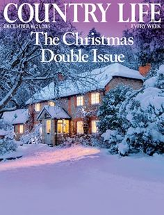 NEW ISSUE COUNTRY LIFE 16 & 23 DEC 2015 PRINT ARRIVED 16.12.15