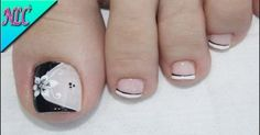 Semi-permanent varnish, false nails, patches: which manicure to choose? - My Nails Cute Pedicure Designs, Toe Nail Designs, Pretty Toe Nails, Cute Toe Nails, Pink Nail Art, Flower Nail Art, Pedicure Nail Art, Toe Nail Art, Bling Nails